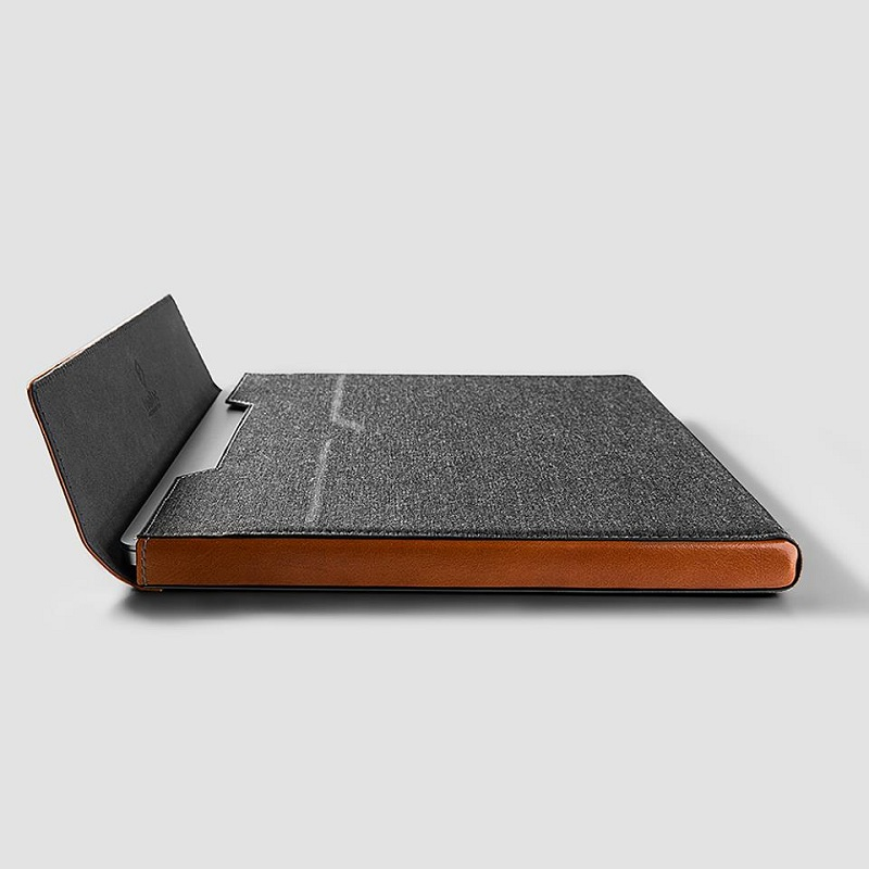Túi Chống Sốc TOMTOC (USA) - H15 Premium LeaTher Cho Surfae, Macbook New 13 inch